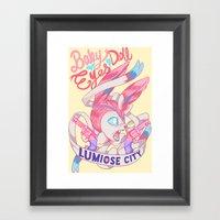 FAIRY GANG Framed Art Print