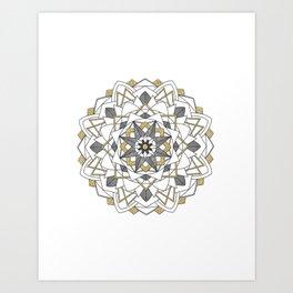 Glitter and Gold Art Print