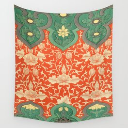 Examples of Chinese Ornament XCIV Wall Tapestry