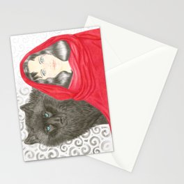 Good & Evil Stationery Cards