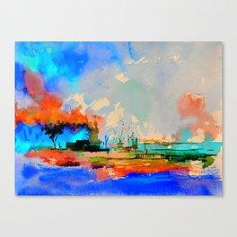 watercolor 4130302 Canvas Print