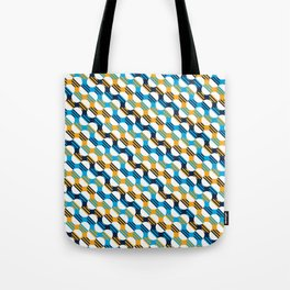 People's Flag of Milwaukee Mod Pattern Tote Bag