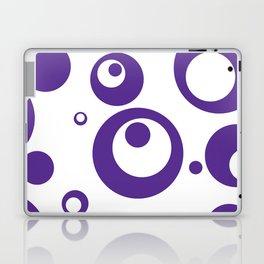 Circles Dots Bubbles :: Grape Juice Inverse Laptop & iPad Skin