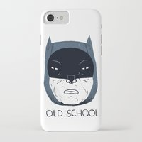 old school iPhone & iPod Cases featuring old school by Louis Roskosch