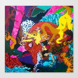Seasons of the Dragon Canvas Print
