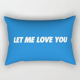 #TBT - LETMELOVEYOU Rectangular Pillow
