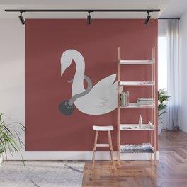 Captain Swan Wall Mural