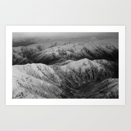 Cardrona Valley, New Zealand Art Print