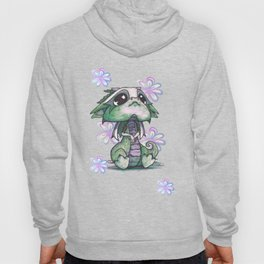 Baby Dragon with Flowers Hoody