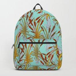 Bulrushes & River Fish Backpack