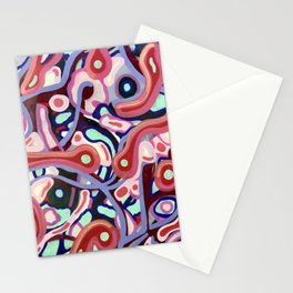 Diabolic Flow Stationery Cards