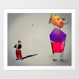 MixMotion: Jello Shots Art Print