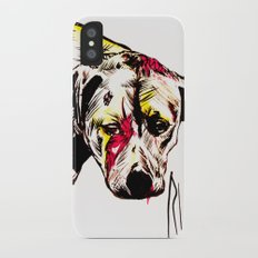 The sadness of streetdogs Slim Case iPhone X