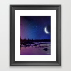 Night - From Day And Night Painting Framed Art Print