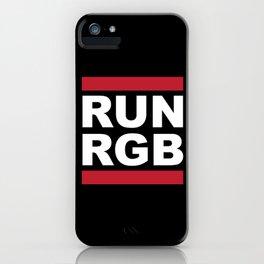 Run RGB iPhone Case