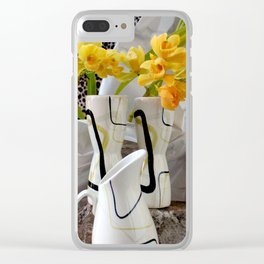 Animal, Vegetable, And Mineral Clear iPhone Case