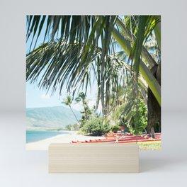 Aloha Sugar Beach Mini Art Print