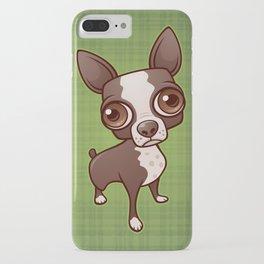 Zippy the Boston Terrier iPhone Case