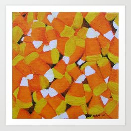 Candy Corn Art Print