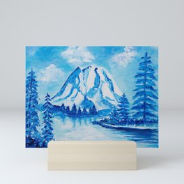 Mt. Rainier Mini Art Print