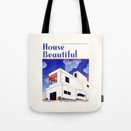 House Beautiful September 1932 Tote Bag