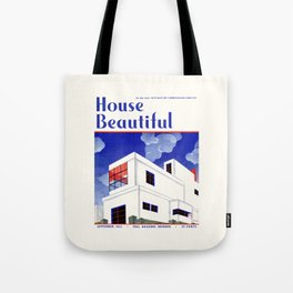 House Beautiful September 1932 Tote Bag