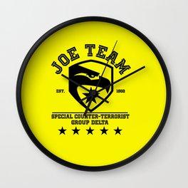 Joe team Wall Clock