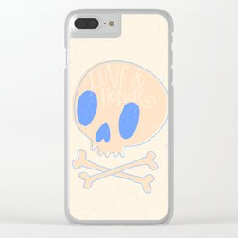 Love and Honor Clear iPhone Case