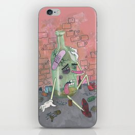 Oh, Demon Alcohol! iPhone Skin