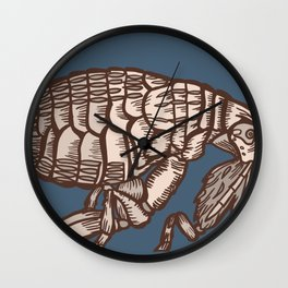 Flea Wall Clock
