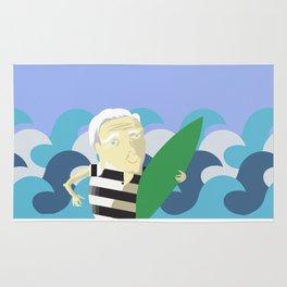 Old Surfer Rug