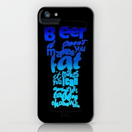 BEER STORY iPhone Case