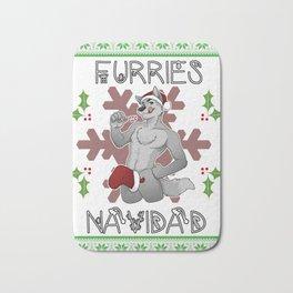 Furries Navidad Bath Mat
