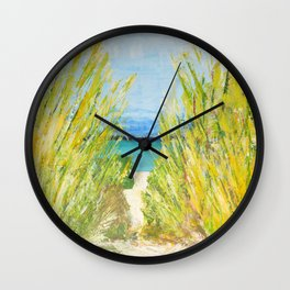 The water is waiting  Wall Clock