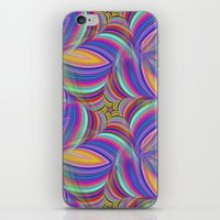 psychedelic iPhone & iPod Skins featuring Psychedelic by David Zydd