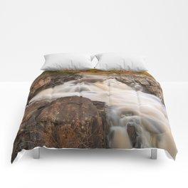 Great Falls Autumn Cascades Comforters