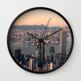 HONG KONG 08 Wall Clock