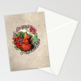 All Things Are Possible Stationery Cards