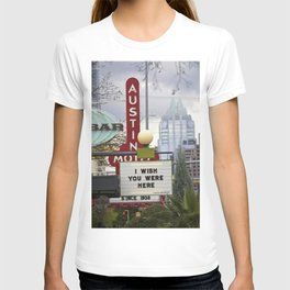Sign, I Wish You Were Here T-shirt
