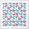 Flutter Butterfly Pattern by floralpatterns