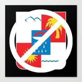 Boycott Sochi Canvas Print