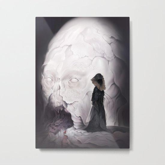 Death Claims the Godhead Metal Print