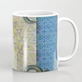 Blue Buffalo Roaming Round Coffee Mug