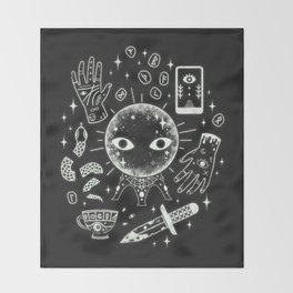 I See Your Future: Glow Throw Blanket