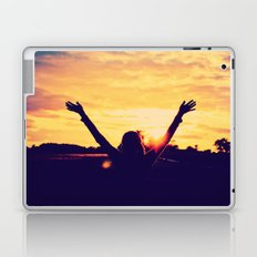 I Can't Lift My Hands High Enough ANALOG ZINE Laptop & iPad Skin