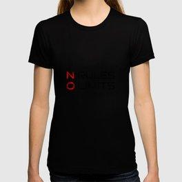 No Rules No Limits T-shirt