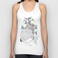 fawn Tank Tops featuring Fawn by Cassandra Jean