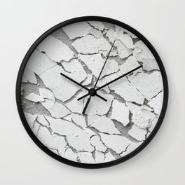 Abstract concrete wall Wall Clock