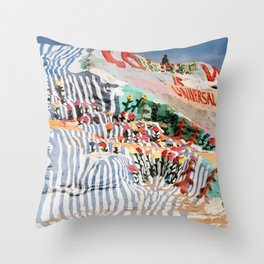 Salvation Mountain Throw Pillow