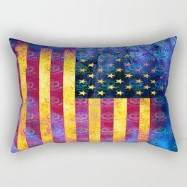 Bitter Poison Skulls: (Flag Exclusion) Rectangular Pillow